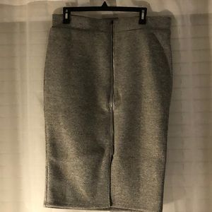 Torrid gray pencil skirt